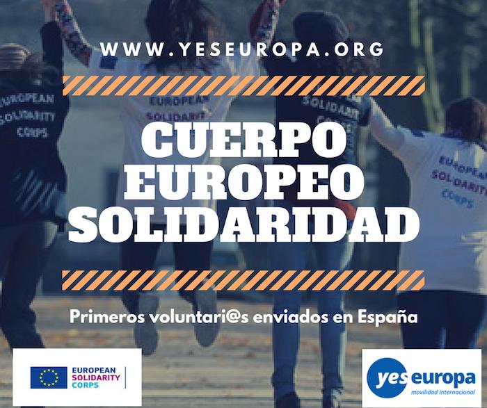 cuerpo europeo solidaridad españa