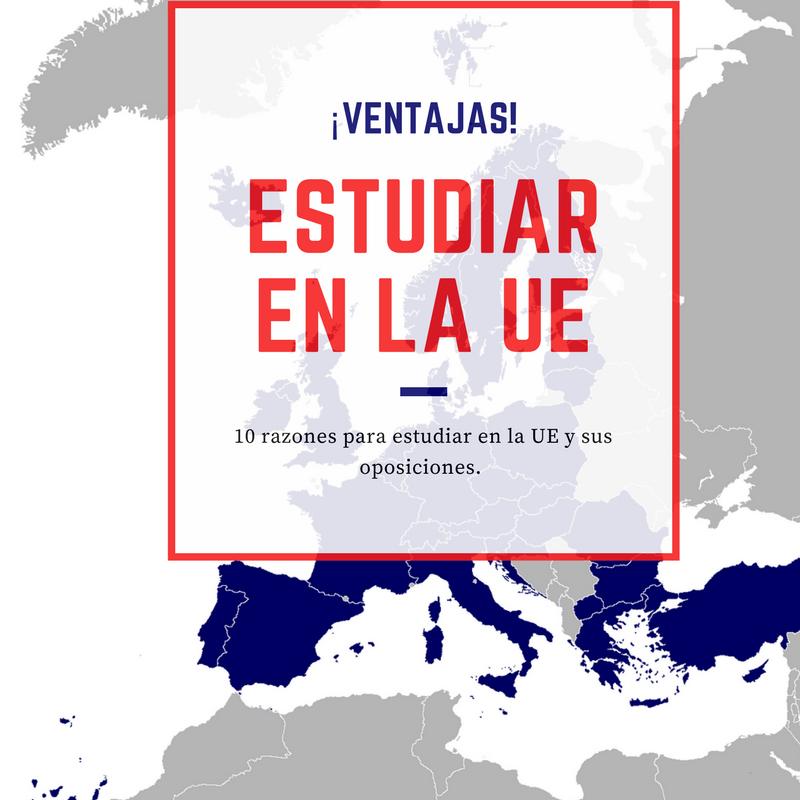 Estudiar en la UE - ¡Oportunidades y ventajas de hacerlo!