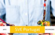 Voluntariado Portugal de arte con discapacitados cerca de Oporto