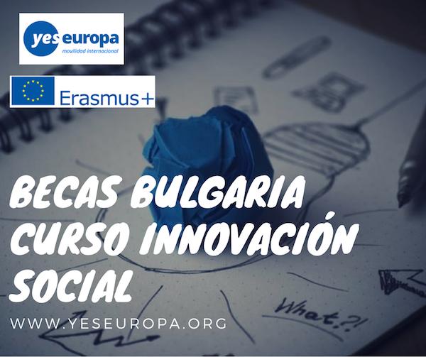 BECAS BULGARIA CURSO INNOVACION SOCIAL