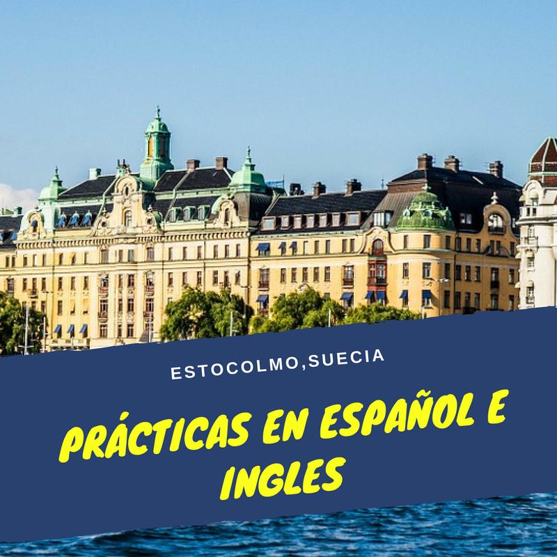 Prácticas en español e ingles - Estocolmo,Suecia