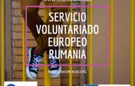 Servicio Voluntariado Europeo Rumanía sobre inclusión (2 plazas)