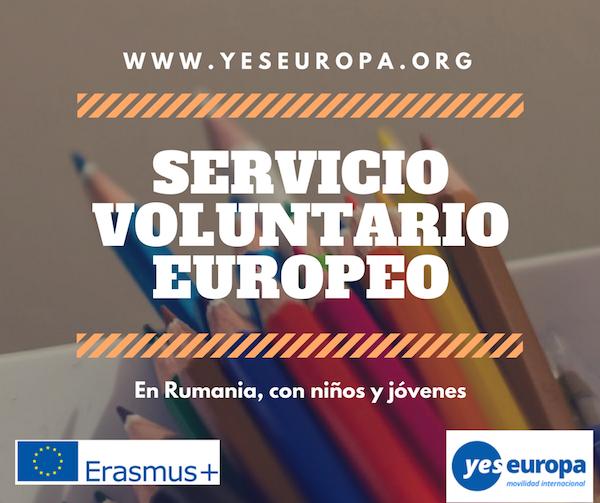 SERVICIO VOLUNTARIO EUROPEO en rumania