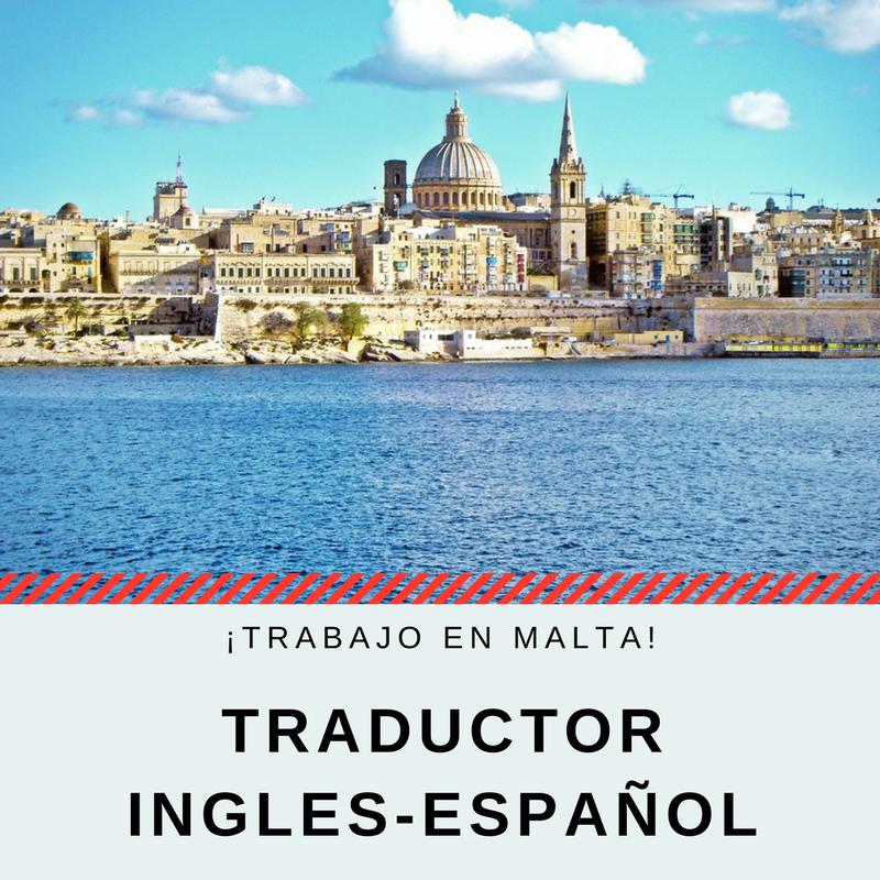 Traductor Ingles-Español _ ¡Trabajo en Malta!
