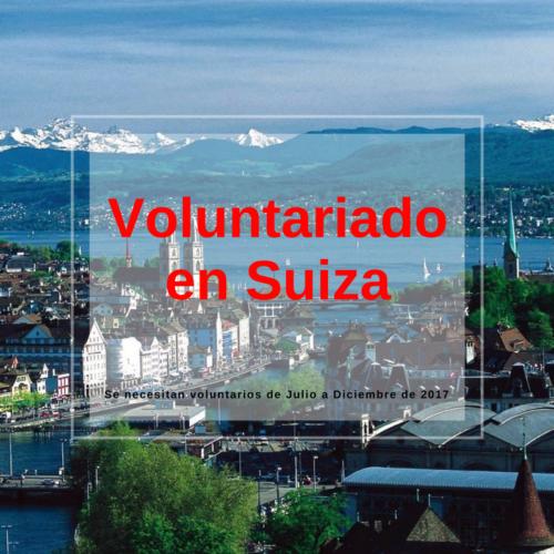 Voluntariado en Suiza, Lago de Zúrich