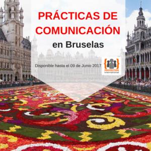prácticas comunicación bruselas