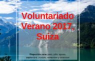 Voluntariado de verano 2017 en Suiza cuidando niños