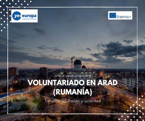 VOLUNTARIADO EN ARAD (Rumanía)