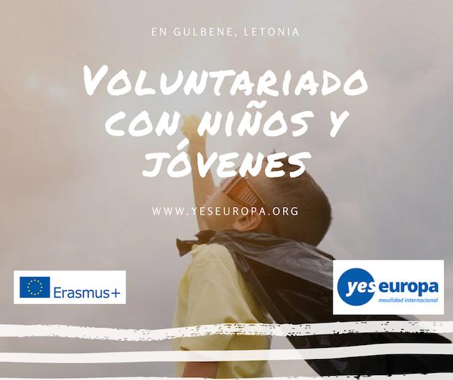 Voluntariado con niños y jóvenes