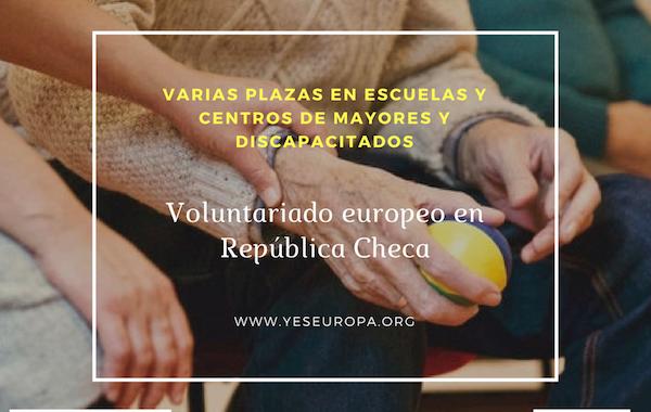 Voluntariado europeo en República Checa en escuelas, centros discapacitados y de mayores