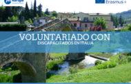 Becas Erasmus Italia de voluntariado en actividades con discapacitad@s
