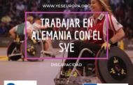 Trabajar en Alemania con discapacitados con el SVE