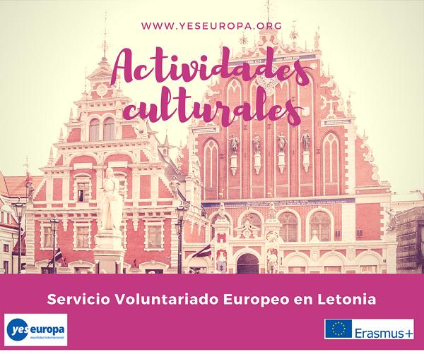 Voluntariado cultural en Letonia