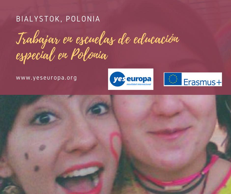 Trabajar en escuelas de educación especial en Polonia