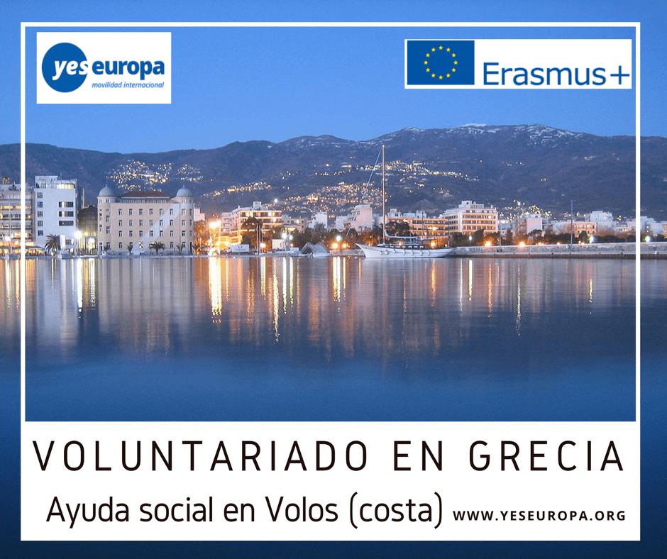 Voluntariado social en Grecia