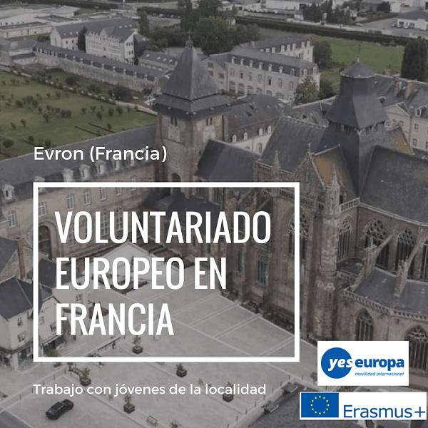 Voluntariado europeo en Francia con jóvenes