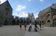 Lorena recupera un castillo de Francia con el Servicio Voluntariado Europeo