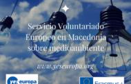 Servicio Voluntariado Europeo en Macedonia de medioambiente