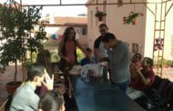 Paula en su primer mes de voluntariado social en Sliven (Bulgaria)