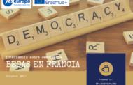 Becas en Francia para intercambio sobre democracia