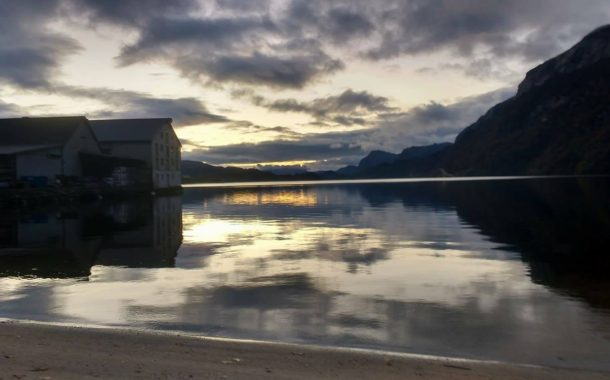 Vega desarrolla su voluntariado en un pueblecito de Noruega