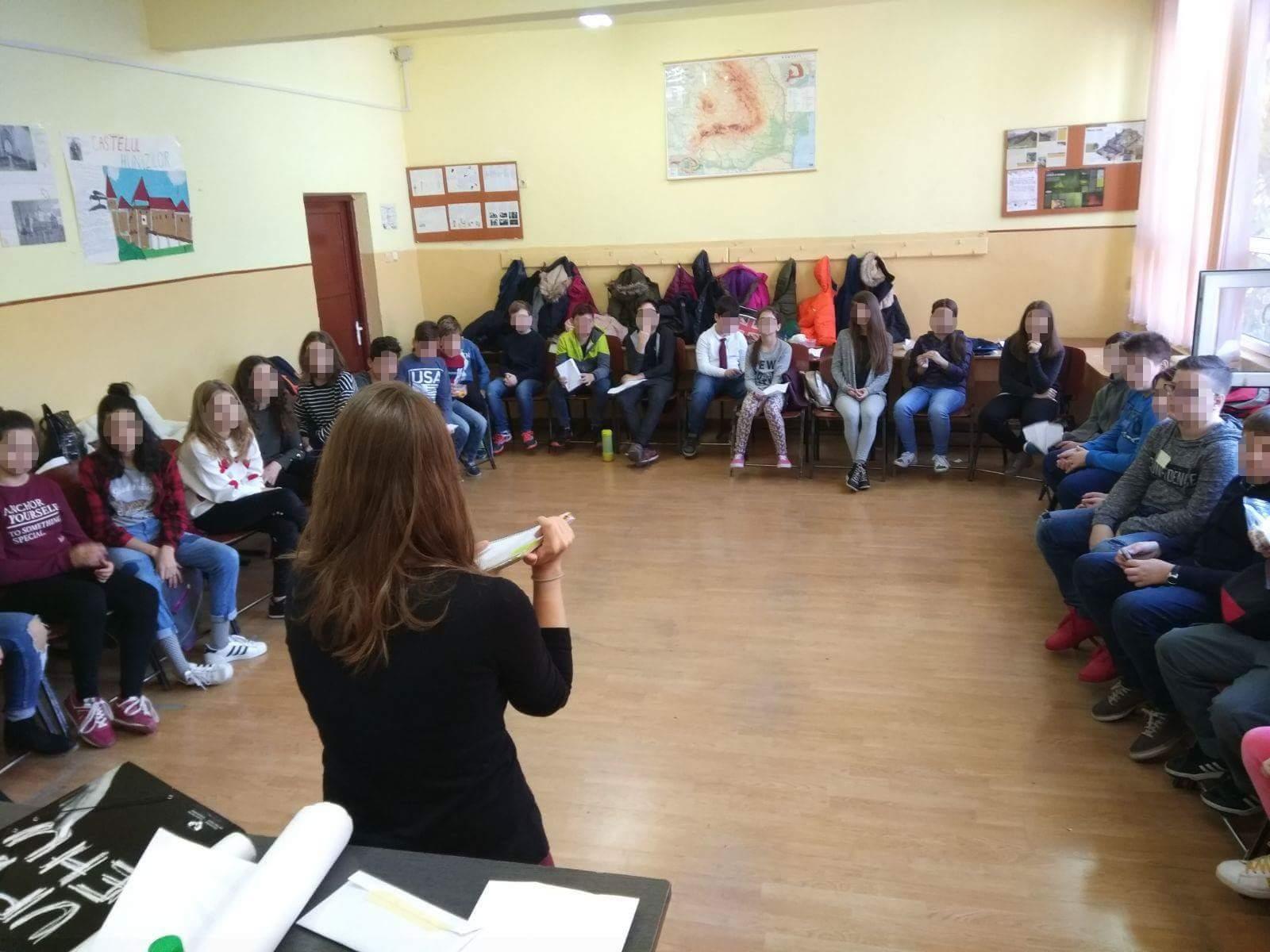 voluntariado con refugiados en rumanía