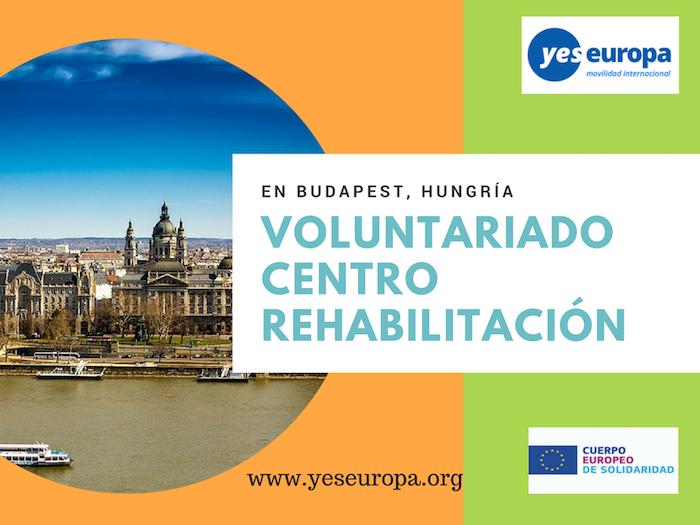 12 meses en Voluntariado Budapest en centro rehabilitación (Hungría)