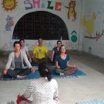 voluntariado en india meditacion