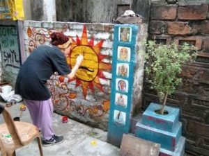 voluntariado en india sobre cultura y arte