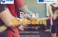 Becas en Grecia Erasmus sobre juegos en grupo