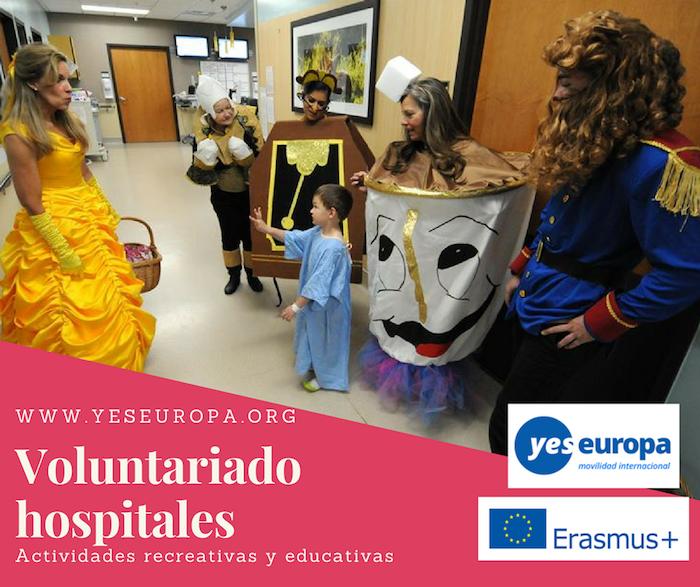 Voluntariado hospitales de Hungría para realizar actividades educativas y lúdicas