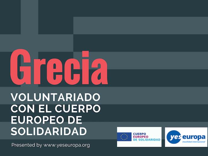 Oferta Voluntariado Grecia
