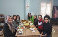 Estefanía con su voluntariado TurquíaKaraman