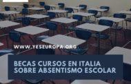 Becas cursos en Italia para profesor@s, educadores y formador@s