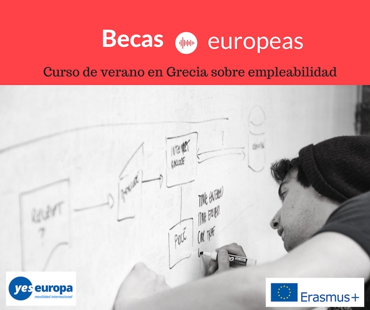 Becas europeas en Grecia sobre empleabilidad para verano