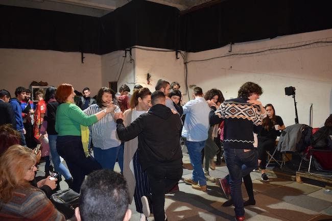 voluntariado refugiados Spanish Italian Intercultural Evening - Chotis