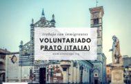 Voluntariado con inmigrantes en Prato (Toscana, Italia)