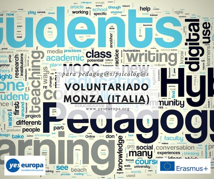 1 plaza para psicólog@/pedagog@ en Italia para trabajar con NINIS