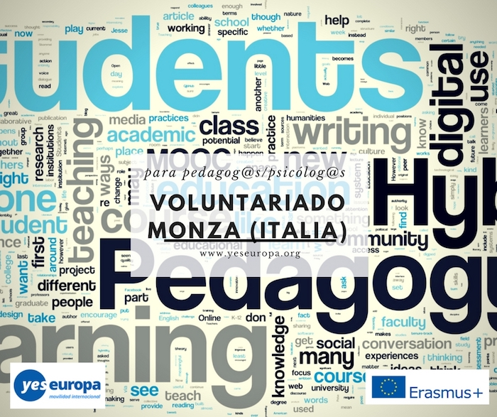 VOLUNTARIADO pedagogos italia