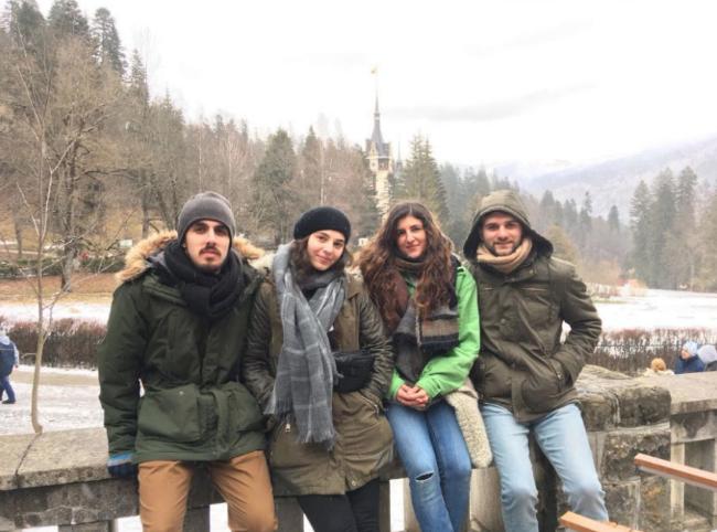 felisa y juan voluntarios rumania