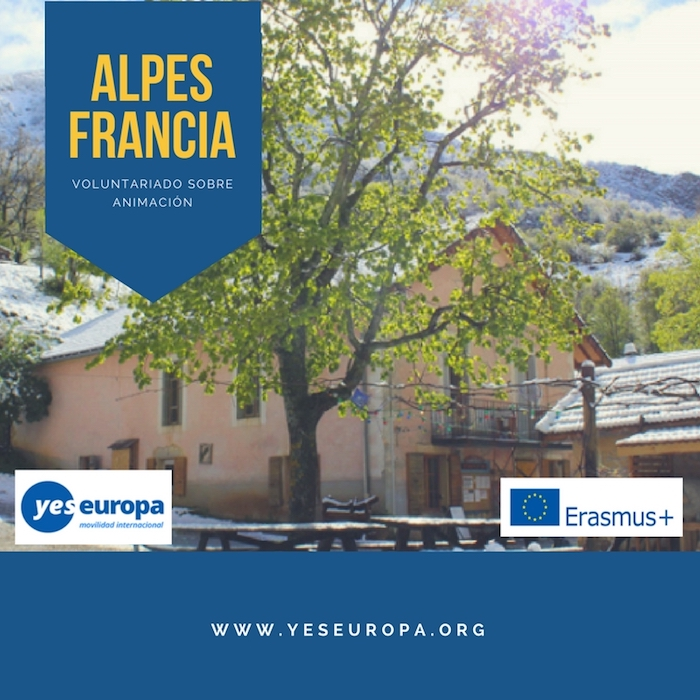 voluntariado ALPES FRANCIA