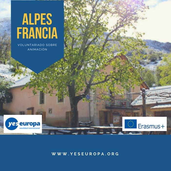 voluntariado ALPES FRANCIA