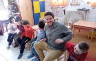 Roman en su segunda fase de voluntariado en Rumanía