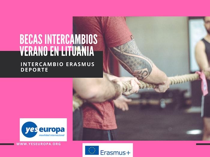 Becas Lituania sobre deportes y actividades al aire libre