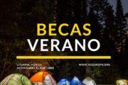 Becas verano Lituania para actividades al aire libre en parque regional