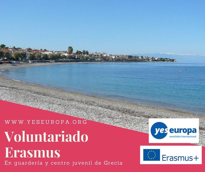voluntariado erasmus grecia