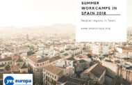 Summer Workcamps Spain 2018, volunteering opportunities