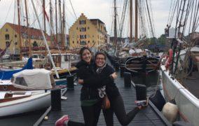 Isabel termina su voluntariado Dinamarca