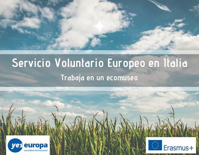 Voluntariado cultural en Italia: trabaja en un ecomuseo