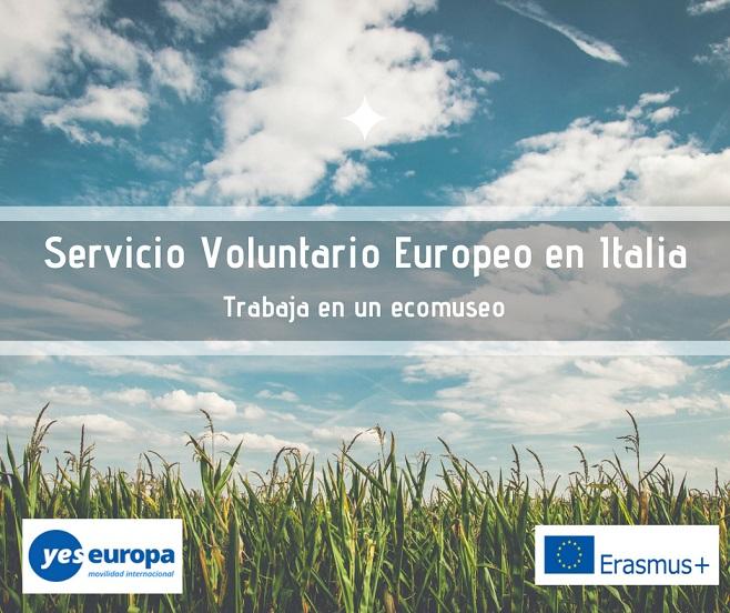 Voluntariado cultural en Italia